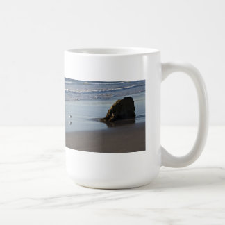 Sand Piper On The Beach Coffee Mug
