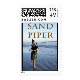 Sand Piper Stamp