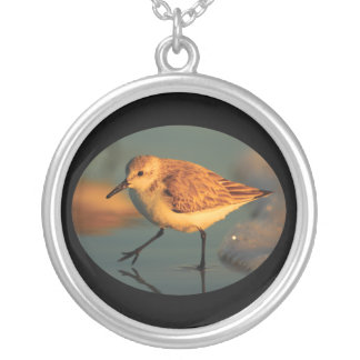 Sand Piper Walking Personalized Necklace