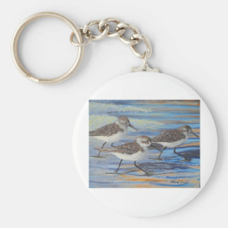 Sand Pipers Keychain