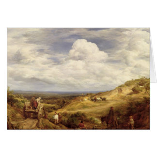 Sand Pits, Hampstead Heath, 1849 Card
