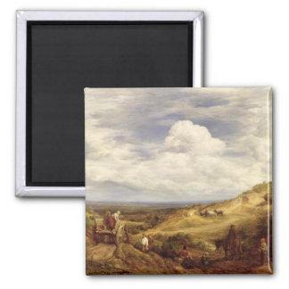 Sand Pits, Hampstead Heath, 1849 Magnet