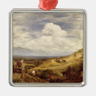 Sand Pits, Hampstead Heath, 1849 Metal Ornament