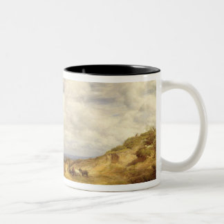 Sand Pits, Hampstead Heath, 1849 Two-Tone Coffee Mug
