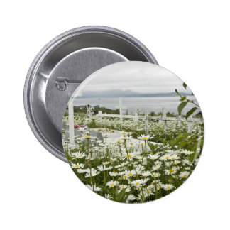 Sand Point cemetary Pinback Button