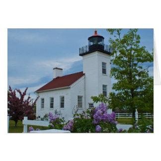 Sand Point Lighthouse Card