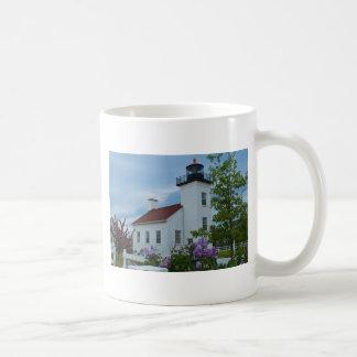Sand Point Lighthouse Coffee Mug