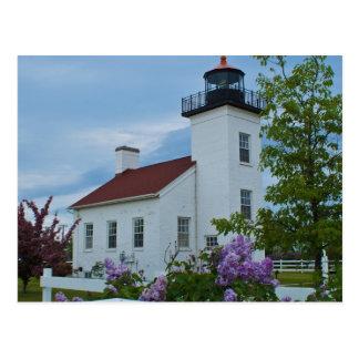 Sand Point Lighthouse Postcard
