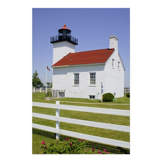 Sand Point Lighthouse Poster