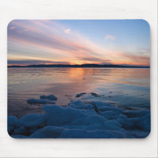 Sand Point Sunset Mouse Pad