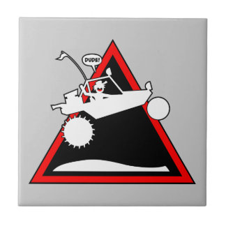 SAND RAIL AIR Danger Signs Tiles