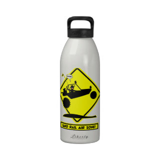 SAND RAIL AIR Road Signs Water Bottle