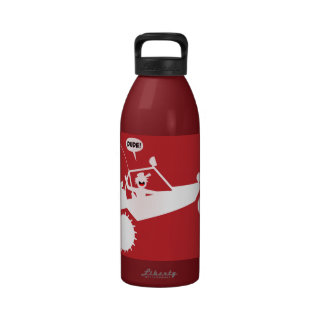 SAND RAIL AIR Warning Signs Reusable Water Bottle