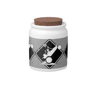 SAND RAIL WHEELIE Placard Candy Jars