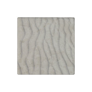 Sand ripple texture stone magnet