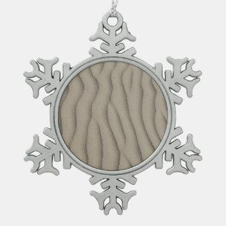 Sand ripple texture ornament