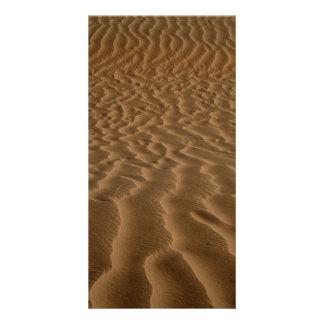 Sand ripples card