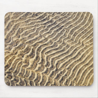 Sand ripples in shallow water mouse pad