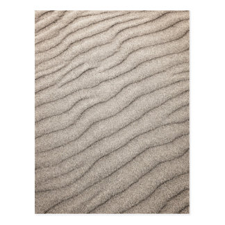 Sand ripples texture post cards