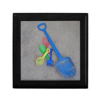 Sand Scoops, Kids Playground Beach Summer Keepsake Box