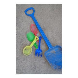 Sand Scoops, Kids Playground Beach Summer Stationery