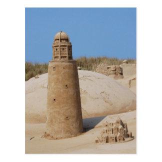Sand Sculptures Festival 2009 Postcard