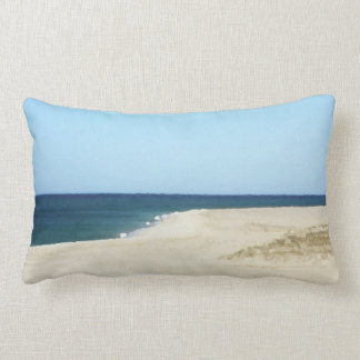 Sand, Sea, and Sky on Cape Cod Pillow