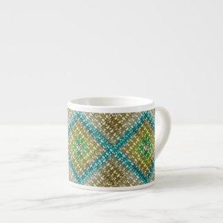 Sand & Sea Weave 6 Oz Ceramic Espresso Cup