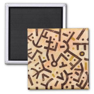 Sand Spirit - African Style Magnet