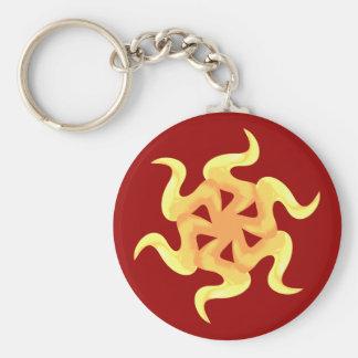 Sand star brittlestar serpent star keychain