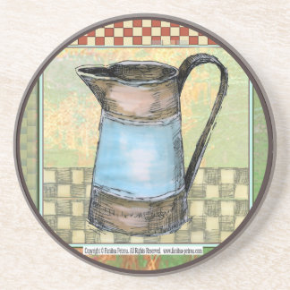 French Country Drink Beverage Coasters Zazzle