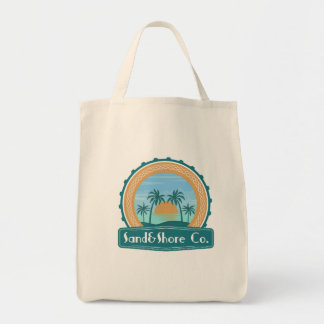 Sand&Sun Co. Logo Grocery Bag
