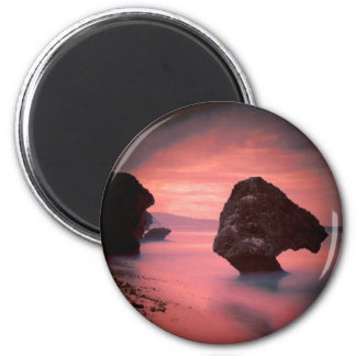 Sand, Surf and Stone 2 Inch Round Magnet
