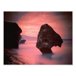 Sand Surf and Stone Photo Print