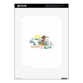Sand & Surf Skins For iPad 3