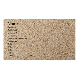 Sand Texture For Background Business Card
