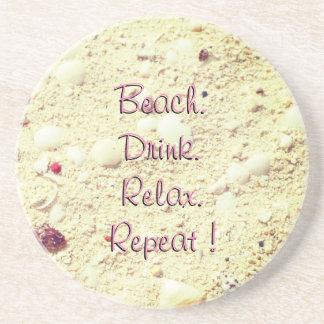 Sand Textured Sandstone Coaster