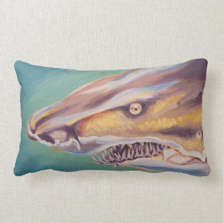 Sand Tiger Shark Lumbar Pillow