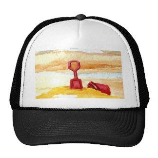 Sand Toys - Sand Castle Building on the Beach Trucker Hat