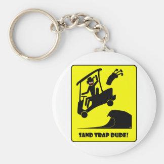 Sand trap DUDE-1 Keychain