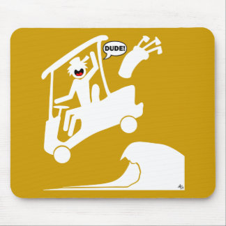 Sand trap DUDE-2 Mouse Pad