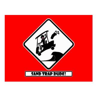 Sand trap DUDE-3 Postcard