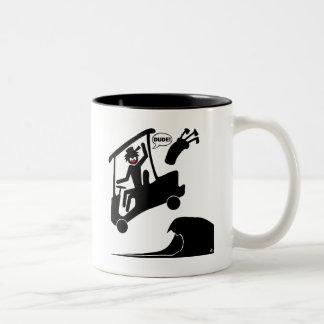 Sand trap DUDE-4 Coffee Mugs