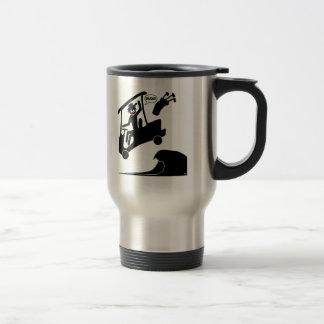 Sand trap DUDE-4 Travel Mug