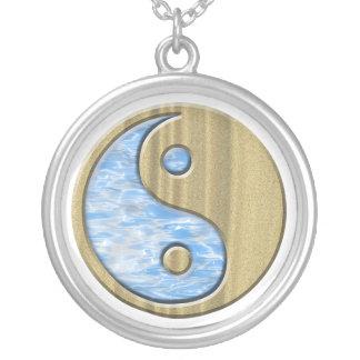 Sand & Water Yin Yang Custom Necklace