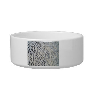 Sand Waves Texture Pet Water Bowl