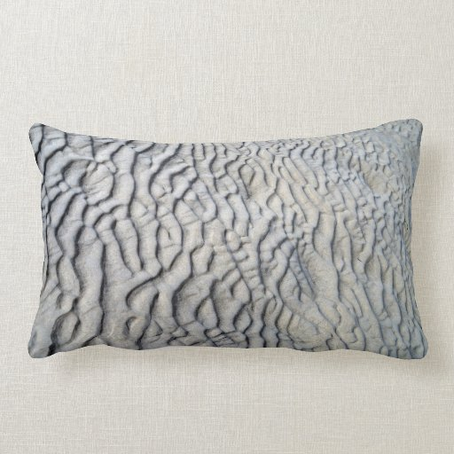 Sand Waves Texture Throw Pillows