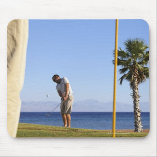 Sand wedge approach, mouse pad