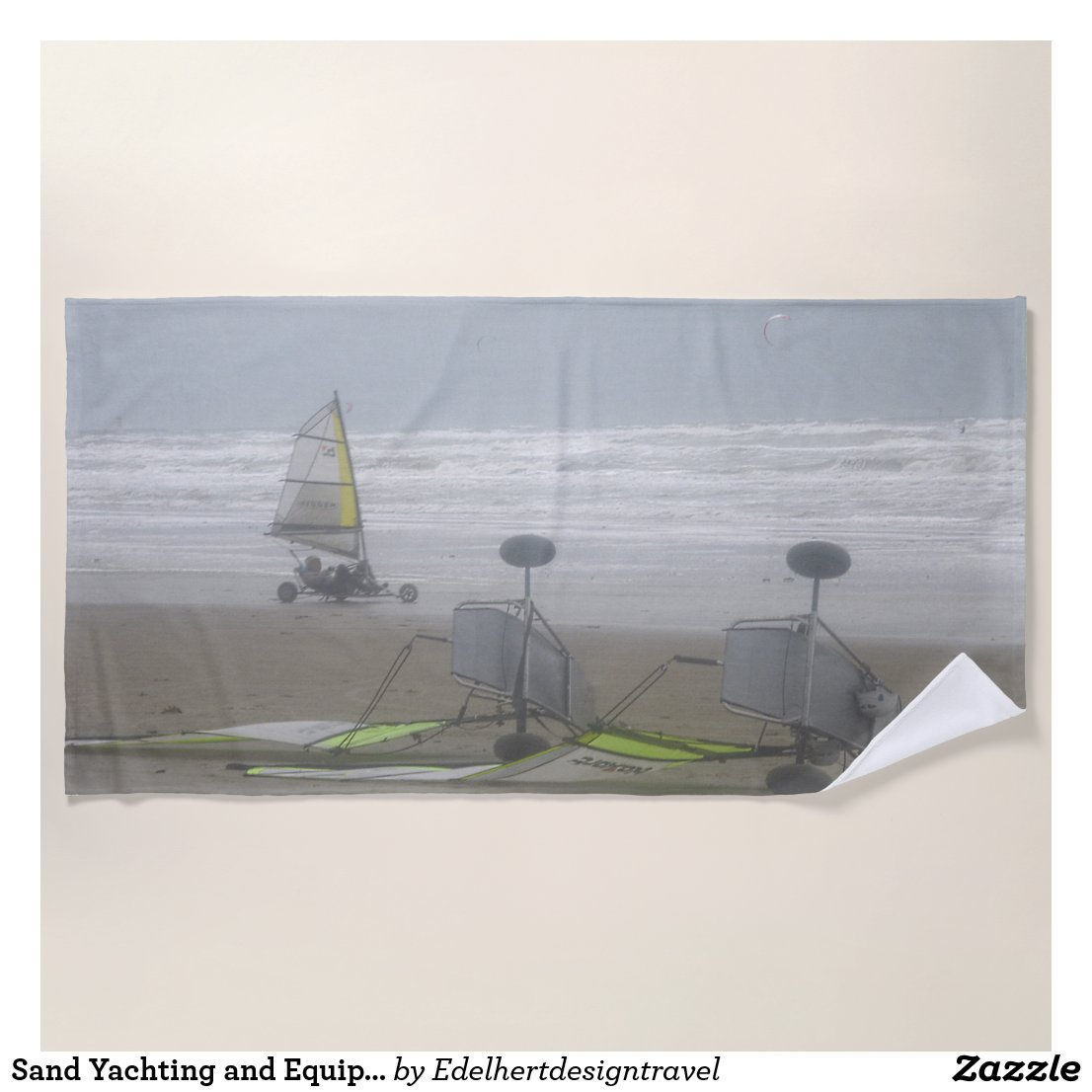 Sand Yachting and Equipment Beach Towel