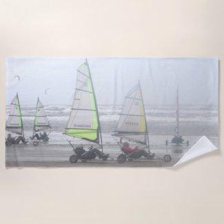 Sand Yachting Group Beach Towel
